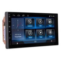 "Multimídia Universal Tela 7"" Android 9.0 Gps Câmera De Ré E Frontal Tv Digital 2gb Aikon"