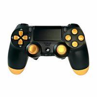 Controle Playstation 4, Dualshock 4, Competitivo, Jet Black Gold