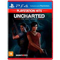 Uncharted The Lost Legacy Hits-ps4