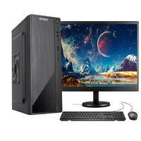 """Computador Completo Fácil Intel Core I5 3ª Geração 4gb Ssd 240gb Monitor 19"""" Hdmi Led Teclado E Mouse"""