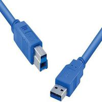 Cabo USB 3.0 a Macho X USB B Macho 2 Metros U3AMBM-2