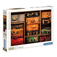 Puzzle 1000 Peças Malas De Viagem - Clementoni - Importado
