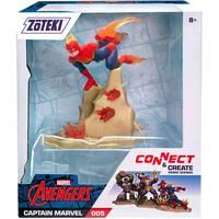 Zoteki Os Vingadores - Capitã Marvel - 15 Cm