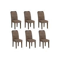 6 Cadeiras Athenas Castor Rufato