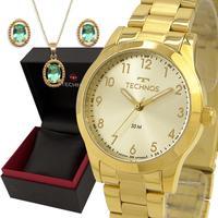 Relógio Technos Feminino Dourado 2035mkm1x