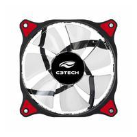 Cooler Fan C3tech Storm 12cm 30 Leds Vermelho - F7-l130rd