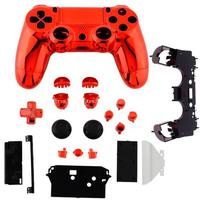 Carcaça Cromada Duas Cores Controle Playstation 4 Completa