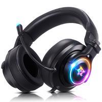 Headset Gamer Fone De Ouvido Usb Com Microfone Adamantiun Heimdall V2 Pc Ps4 Ps5 Ps3 Notebook Com Adaptador Type C Celular…