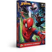 Quebra Cabeça Cartonado Spider-man 100 Peças