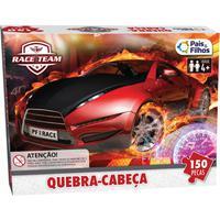 Quebra Cabeça Cartonado Premium Race 150 Peças