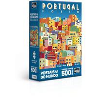 Quebra Cabeça 500 Peças Postaisdo Mundo Portugal - Porto