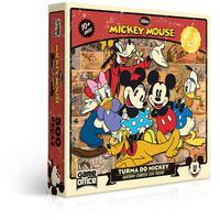 Quebra Cabeça 500 Peças A Turma Do Mickey
