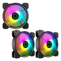Fan Cooler Argb Gamemax Fn-12rainbow-d 3-fan