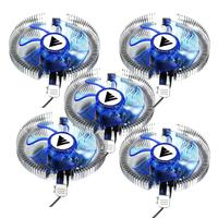 Kit 5 Coolers Universal Intel E Amd Aluminio (bc-04ua) Atacado