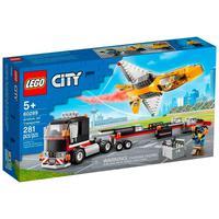 Lego City - Transportador De Avião De Acrobacias Aéreas - 60289