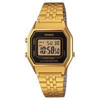 Relógio Feminino Casio Digital La680wga-1df - Dourado