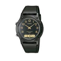 Relógio Casio Digital-analógico Masculino Aw-49h-1bvdf - Preto