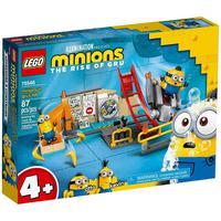 Lego Minions - Os Minions No Laboratório De Gru - 75546