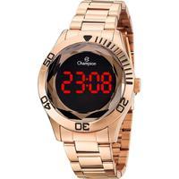 Relógio Unissex Champion Digital Ch48073z - Rosê