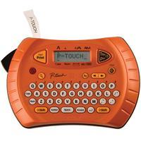 Rotulador Eletrônico Brother Portátil Laranja, 1 Fonte, 54 Variações, 71 Símbolos Incorporados - PT-70