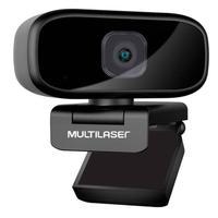 Webcam Full Hd 1080p Auto Focus Rotacao 360 Mic Usb Preto Wc052 Multilaser