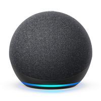 Smart Speaker Amazon Com Alexa Echo Dot 4ª Geração Preto
