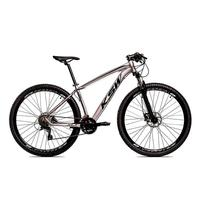"Bicicleta Aro 29 Ksw 27 Marchas Freio Hidráulico E Trava/k7 Cor: grafite/pretot amanho Do Quadro:19"" - 19"""
