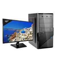 Computador Desktop Icc Iv2580s3wm19 Intel Core I5 3.20 Ghz 8gb Hd 320gb Hdmi Full Hd Monitor Led 19,