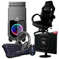 Pc Gamer Completo Start Nli82924 Amd 320ge 16gb vega 3 Integrado 1tb + Cadeira Gamer