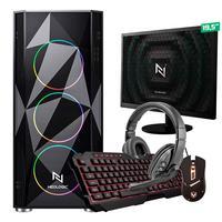Kit - Pc Gamer Start Nli82890 Amd 320ge 16gb vega 3 Integrado Ssd 120gb + Monitor 19,5