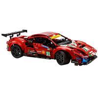 Lego Technic Ferrari 488 Gte Af Corse #51 Ref.42125