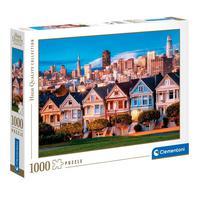 Puzzle 1000 Peças Álamo Square - São Francisco- Clementoni - Importado