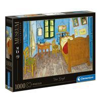 Puzzle 1000 Peças Van Gogh - Quarto Em Arles - Clementoni - Importado