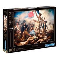 Puzzle 1000 Peças Delacroix - Clementoni - Importado