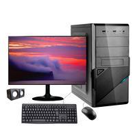 "Computador Desktop Corporate I3 Geração 10 8gb Ddr4 Ssd 240gb Kit Muiltimidia Monitor 19.5"""