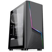 Pc Gamer Intel  Geração 10 Core I5 10400f, Radeon Rx 550 4gb, 8gb Ddr4 3000mhz, Ssd 480gb, 500w 80 Plus, Skill Extreme