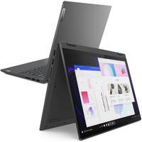 """Notebook Lenovo 2 Em 1 I7 Ideapad Flex 5i Grafite 8gb 256gb 14"""" W10h"""