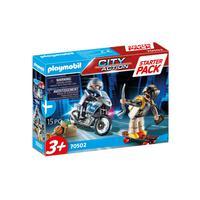 Playmobil - Perseguição Policial Com Fugitivo
