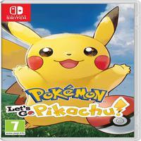 Pokemon Let's Go Pikachu - Switch